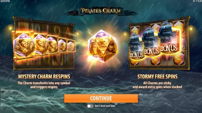 Play slots at Dublinbet: Dublinbet featuring the Video Slots Pirates Charm with a maximum payout of $121,500