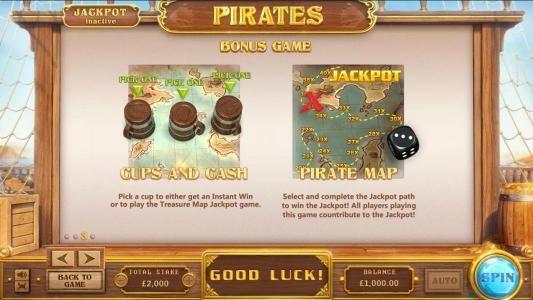 Pirates :: Bonus game rules