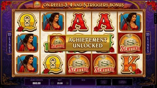 Casino Cruise featuring the Video Slots Pistoleras with a maximum payout of $550,000