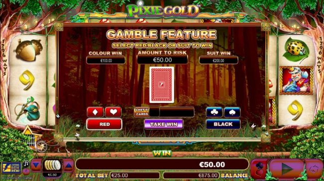 Slots Angel featuring the Video Slots Pixie Gold with a maximum payout of $25,000