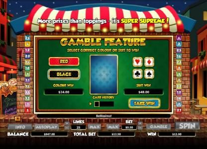 Play slots at Moon Games: Moon Games featuring the Video Slots Pizza Prize with a maximum payout of $20,000