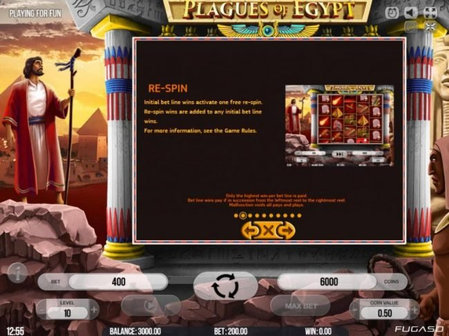 ReelTastic featuring the Video Slots Plagues of Egypt with a maximum payout of $200,000