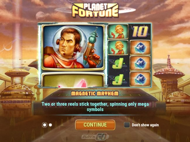 Play slots at B-Bets: B-Bets featuring the Video Slots Planet Fortune with a maximum payout of $250,000