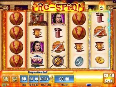 Play slots at Fluffy Spins: Fluffy Spins featuring the Video Slots Plataea with a maximum payout of $250,000