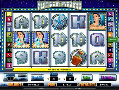 Moon Games featuring the video-Slots Platinum Pyramid with a maximum payout of $70,000