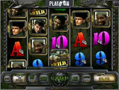 Betive featuring the Video Slots Platoon with a maximum payout of $1,000