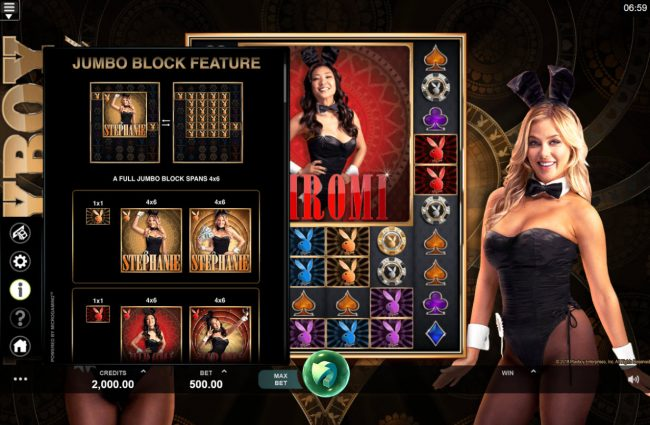 Caribic featuring the Video Slots Playboy Gold Online Slot with a maximum payout of $100,000