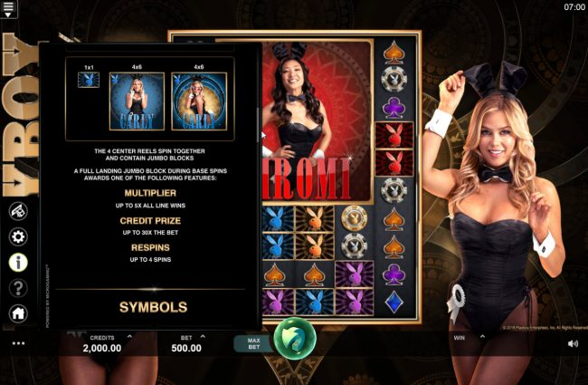 Play slots at MANSION: MANSION featuring the Video Slots Playboy Gold Online Slot with a maximum payout of $100,000