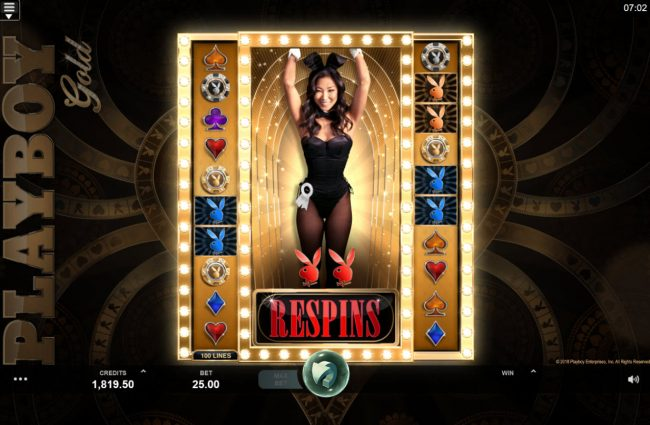 Lucky 247 featuring the Video Slots Playboy Gold Online Slot with a maximum payout of $100,000