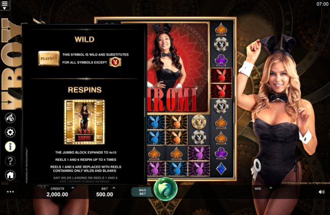 Play slots at Royal Vegas: Royal Vegas featuring the Video Slots Playboy Gold Online Slot with a maximum payout of $100,000