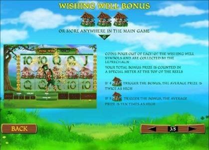 Wishing Well Bonus rules and how to play