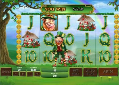 Magic Box featuring the Video Slots Plenty O' Fortune with a maximum payout of $25,000