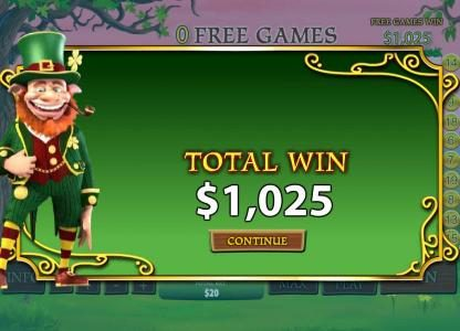 African Palace featuring the Video Slots Plenty O' Fortune with a maximum payout of $25,000