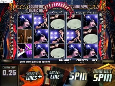 Gossip Slots featuring the Video Slots Plumbo with a maximum payout of $10,000