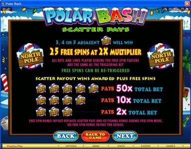 Casimba featuring the Video Slots Polar Bash with a maximum payout of $60,000