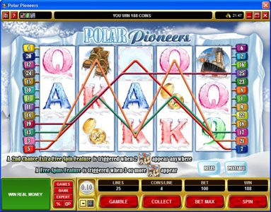 Lucky 247 featuring the Video Slots Polar Pioneers with a maximum payout of $30,000