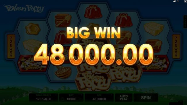 Luxury featuring the Video Slots Pollen Party with a maximum payout of $440,000
