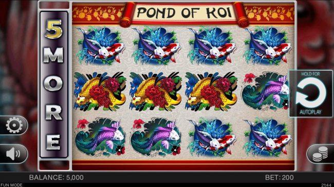 Pond of Koi :: Main Game Board