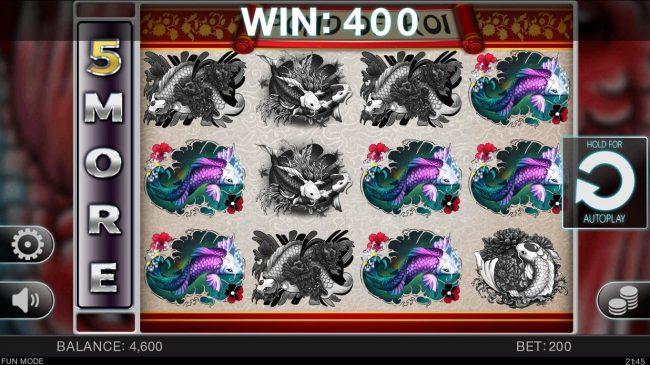 Pond of Koi :: Winning combination