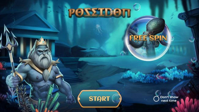 Melbet featuring the Video Slots Poseidon with a maximum payout of $20,000