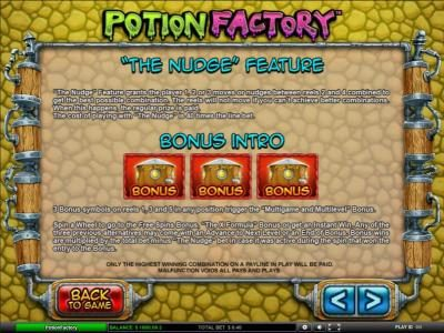 Amsterdam Casino featuring the Video Slots Potion Factory with a maximum payout of $5,000