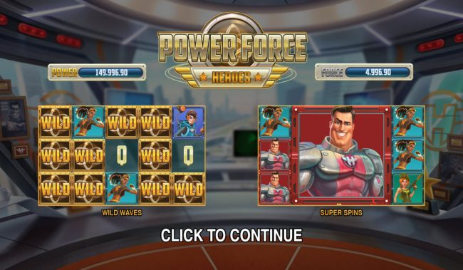 Play slots at Yako Casino: Yako Casino featuring the Video Slots Power Force Heroes with a maximum payout of $100,000