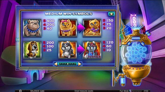 Kingbit Casino featuring the Video Slots Power Pups Heroes with a maximum payout of $4,000