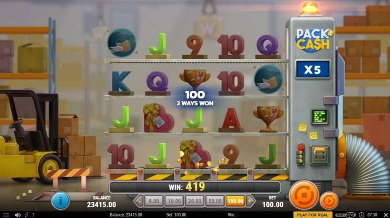 Pack & Cash :: X5 Win Multiplier