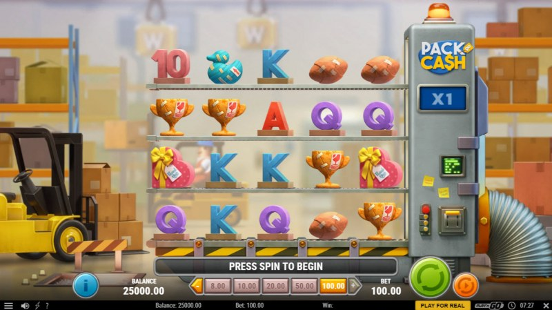 Pack & Cash :: Base Game Screen