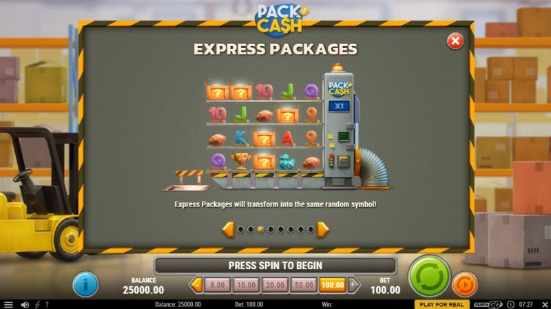 Pack & Cash :: Express Packages