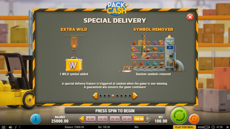 Pack & Cash :: Special Delivery