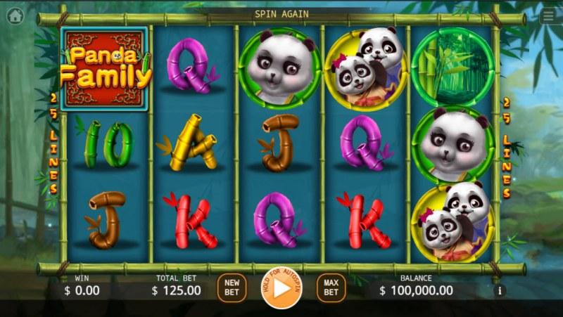 Panda Family :: Base Game Screen