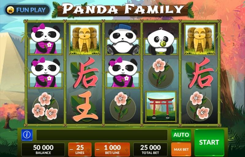 Panda Family :: Main Game Board