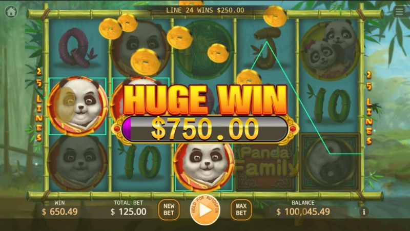 Panda Family :: Huge Win