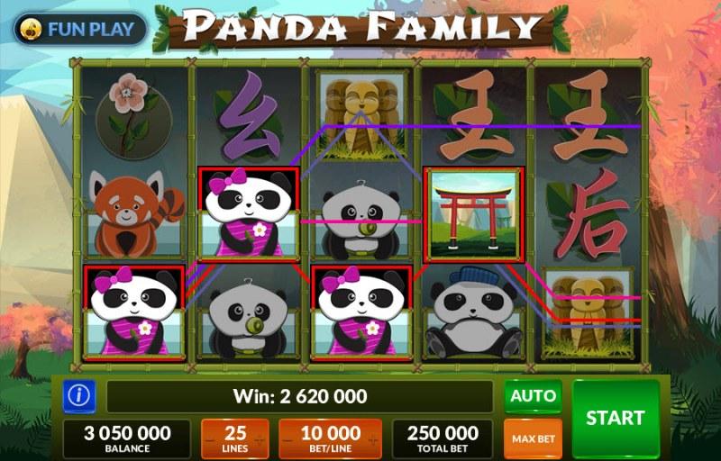 Panda Family :: Big Win