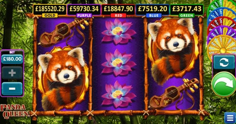 Panda Queen :: Base Game Screen