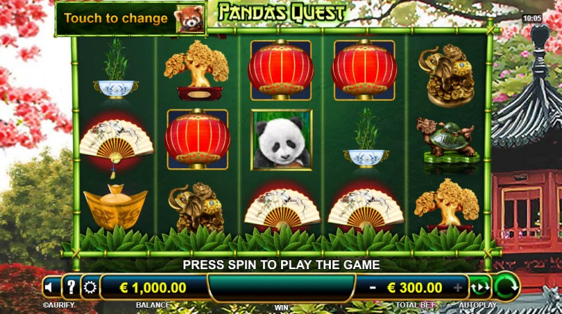 Panda's Quest :: Main Game Board