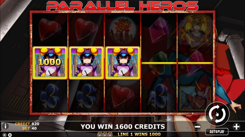 Parallel Heros :: A winning 3 of a kind