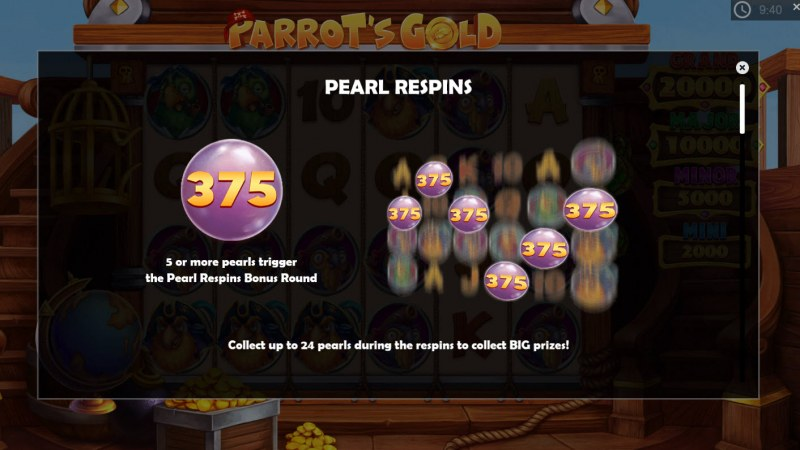 Parrot's Gold :: Pearl Respins