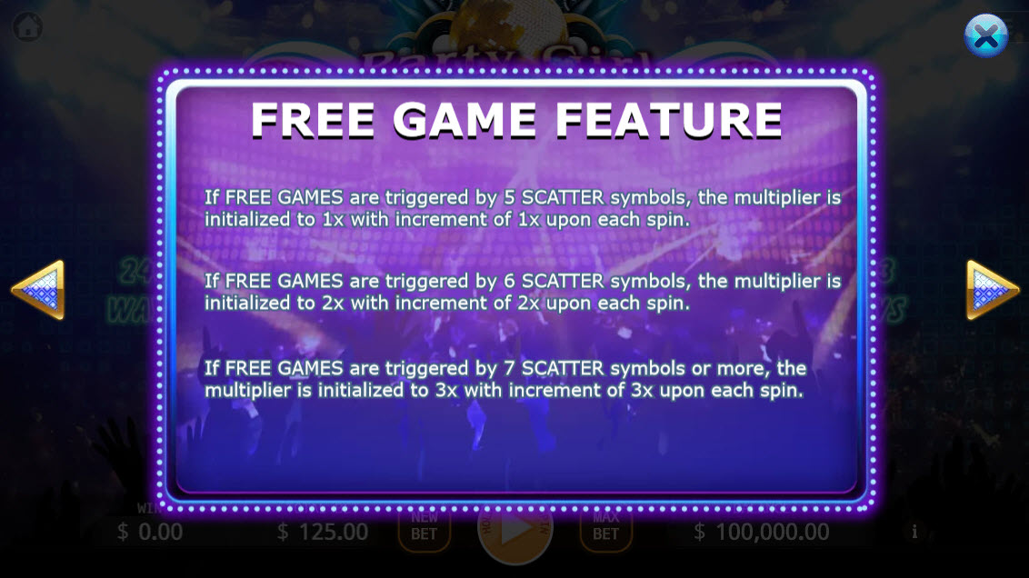 Party Girl Ways :: Free Game Feature