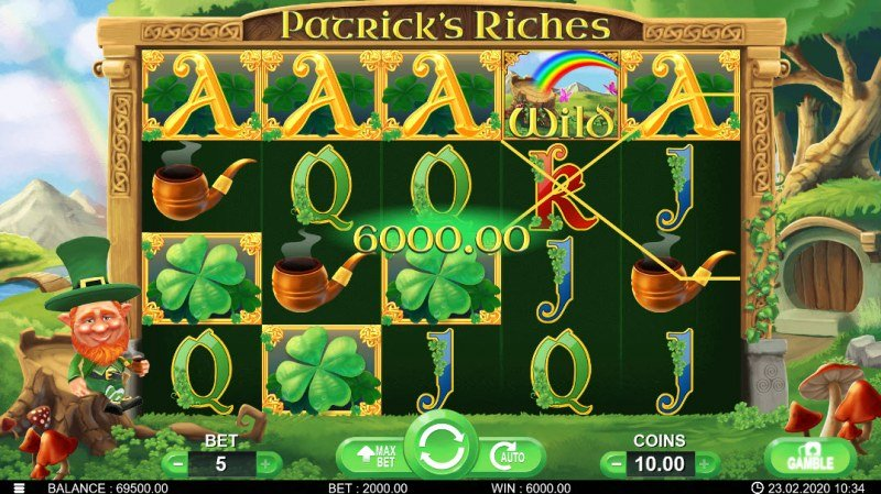 Patrick's Riches :: Five of a kind