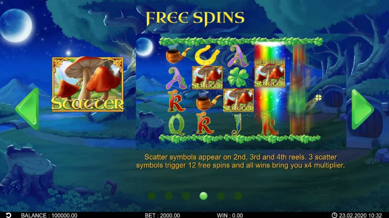 Patrick's Riches :: Free Spins Rules