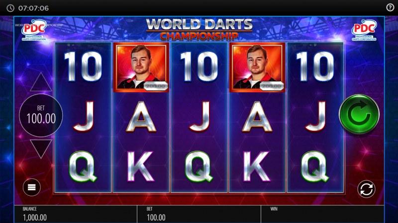 PDC World Darts Championship :: Base Game Screen