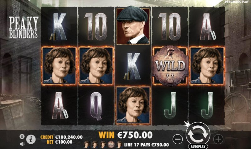 Peaky Blinders :: A five of a kind win