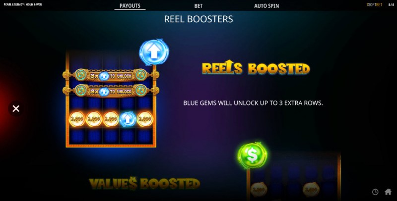 Pearl Legend Hold & Win :: Reel Boosters