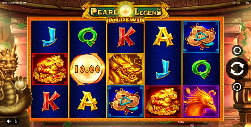 Pearl Legend Hold & Win :: Main Game Board