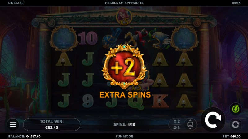 Pearls of Aphrodite :: Extra Free Spins