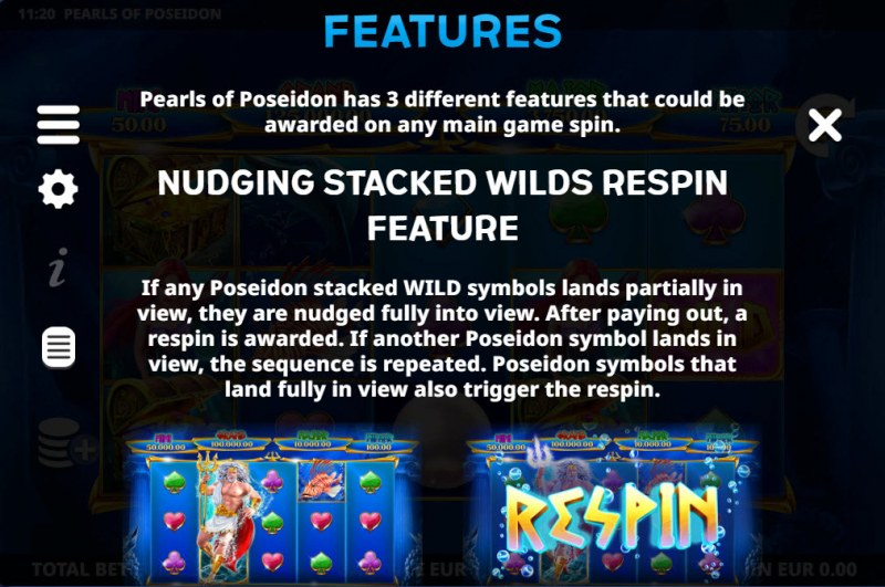 Pearls of Poseidon :: Feature Rules