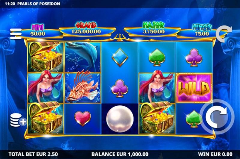 Pearls of Poseidon :: Main Game Board