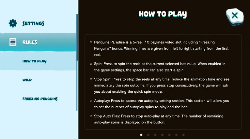 Penguins Paradise :: How To Play